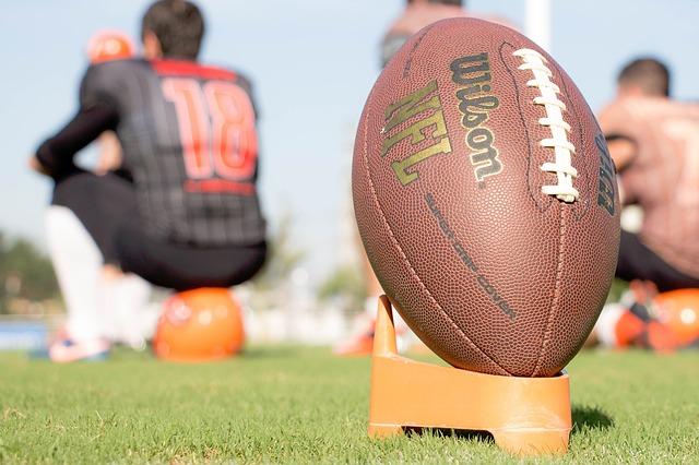 míč amerického fotbalu
